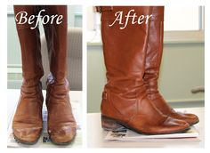 Good to know How to Remove Salt Stains from Leather Boots: A Step-by-Step Guide with Pictures Diy Cleaning Products, Cleaning Solutions, Cleaning Hacks, Cleaning Shoes, Cleaning Recipes, Diy Sac, Tips And Tricks, Clean Freak, How To Remove