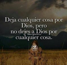 Dios sólo tú