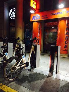 Bikes in Madrid Bicis en Madrid