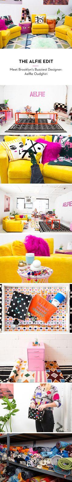 We're obsessed with Brooklyn-based designer Aelfie!