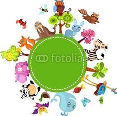 Vecteur : animal set