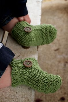 knitted booties  @Af's Collection