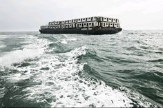 Bringing Subway cars out to be dumped in the Ocean. I've read that this is a good idea because it gives fish a place to hide and sea life grows on it. But i'm not buying it. Dumping in the Ocean is dumping in the Ocean. Why can't they recycle ?????  Sad ...