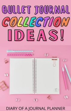 We've got 100+ bullet journal collection ideas here! From the best things to track to daily spreads that will keep you organized! #bulletjournalideas #bujo Bullet Journal Hacks, Bullet Journal Printables, Weekly Planner Template, Printable Planner, Bujo Monthly Spread, Bullet Journal Inspiration, Spreads, Track, Messages