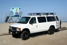 High on my list to do the 4x4 conversion ajileoffroad.com  Ford E 350 EB Van with Aluminess gear all around!
