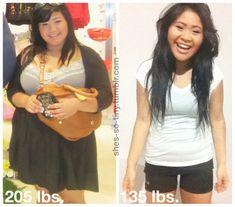 5'2. 205 lbs - 135 lbs