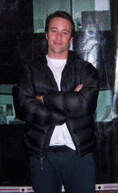 Alex no set de Criminal Minds (Fev 2009)  Alex O´Loughlin ~ An Intense Study  ♥♥♥