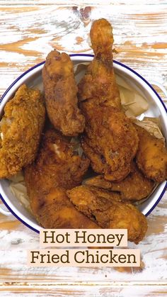Honey Fried Chicken, Fried Chicken Recipes, Meat Recipes, Dinner Recipes, Cooking Recipes, Healthy Recipes, Food Cravings, So Little Time, Yummy Food