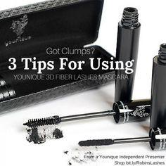 Got Clumps? Fellow Presenter Robin has a great blog post including 3 tips for using Younique 3D Fiber Lashes Mascara!