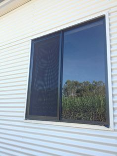 Flyscreens on Shuttered Windows