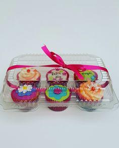 Caja de cupcakes.
