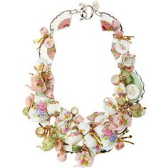 """Disney Couture """"Tea Party"""" Necklace. I am seriously OBSESSED with the Disney Couture collections!"""