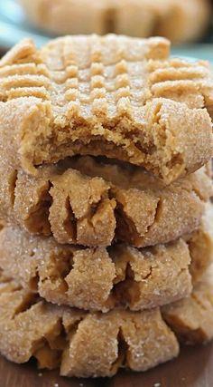 Healthier Easy Peanut Butter Cookies