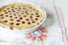 Чадейка - Малиновый пирог с белым шоколадом
