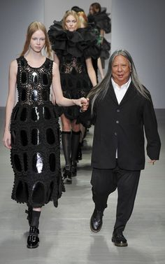 New Crochet on the Runway from John Rocha (Autumn/Winter 2014 Fashion Week)