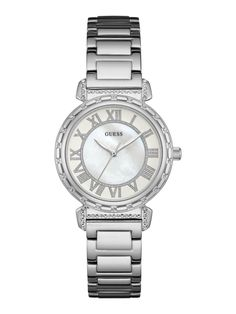 GUESS Women s South Hampton Two-Tone Stainless Steel Bracelet Watch Jewelry    Watches - Watches - Macy s 04d5c6572df