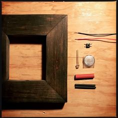 """Soldering together components for the next batch of LED Daguerreotype frames and singing a little song to myself. """"Yes... I love technology...but not... as much as you you see..."""""""