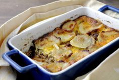 This Meat and Potato Gratin has ground beef and potatoes for a classic, comforting meal.