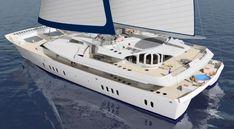 Luxury sailing yacht SPECTRUM 52