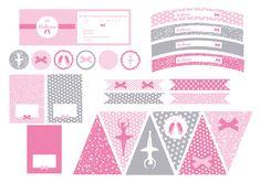 Printable Anniversaire Ballerine Sweet Party Day #printable #anniversaire #ballerine #danseuse