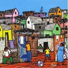 Afbeeldingsresultaat voor township art