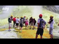 White Island, New Zealand New Zealand Travel, Travel Videos, Cool Places To Visit, The Good Place, Coast, Island, News, Youtube, Youtubers