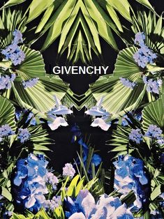 Floral Givenchy ooh so beautiful