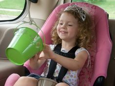 bucket pullley system for traveling with kids