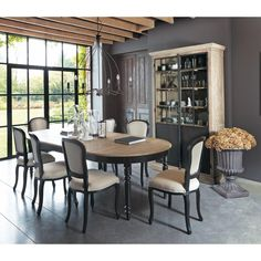 1000 ideas about table ronde avec rallonge on pinterest round tables table ronde extensible. Black Bedroom Furniture Sets. Home Design Ideas