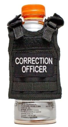 Miniature Tactical Vest Beverage Koozie - CORRECTION OFFICER, http://www.amazon.com/dp/B00CPS2S46/ref=cm_sw_r_pi_awd_W0bzsb1620DJK
