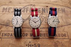 NATO bands and vintage watches Ivy Style, Men's Style, Gents Fashion, Girly, Nato Strap, Beautiful Watches, Awesome Watches, Golf Outfit, Gentleman Style