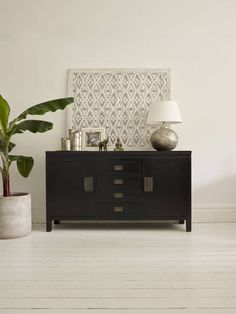 Small Canton Black Sideboard : Dressers & sideboards by LOMBOK
