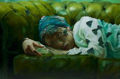 Insomnia (Mayuko) 100×150 cm / Markus Akesson / Markus Åkesson