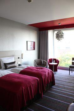 Reiseblog Hotelbericht Radisson Blu Hotel Medienhafen Düsseldorf Business Zimmer Blogger Workshop
