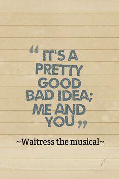 Waitress the musical <3