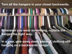 Useful Closet Organizing Tip
