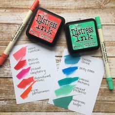 I'm working on a project today for a fun new feature for @simonsaysstamp !!! #crafturday #simonsaysstamp #distressinks #timholtz @tim_holtz @rangerink @ranger_ink @mariojrossi #distress2015 #thcolorpop