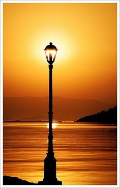 Location: Langada Village, Chios Island, Greece Time: am, on a summer morning Sunlight Amazing Photography, Landscape Photography, Nature Photography, Cool Pictures, Cool Photos, Beautiful Pictures, Amazing Sunsets, Beautiful Sunset, Street Lamp
