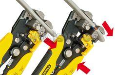 www.jsvo.es Alicates pelacables automático Stanley FatMax FMHT0-96230 fabricados en acero forjado cromado y tratado térmicamente. #HerramientasOnline
