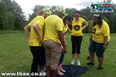 CTI Tribal Survivor team building event in Bloemfontein Free State, facilitated and coordinated by TBAE Team Building and Events Survivor Challenges, Team Building Exercises, Team Building Events, Free State, Board, Planks