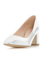 Womens *Head Over Heels By Dune Silver 'Alisia' Mid Heel Shoes- Silver