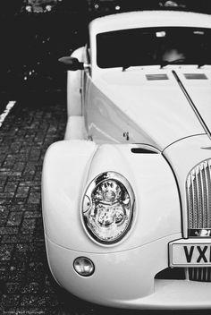 ❦ Morgan Aero White Vehicles car