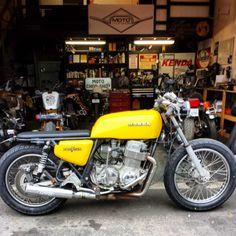 76 Honda CB750 Brat by Moto Chop Shop
