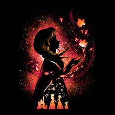 Emo Disney, Dark Disney, Disney Love, Disney Frozen, Disney Artwork, Disney Fan Art, Disney Drawings, Frozen Painting, Disney Quilt
