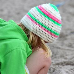 gehäkelte Surfermütze - crochetsurfer beanie