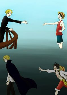 -slams fist on desk- why sanji you are my love how could you leave -One tear-
