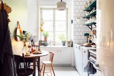 kitchen table.
