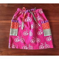The Harmony Drawstring Skirt Tutorial.  Tutorial is so easy and fits any size girl.  My daughter loves the one I made for her.