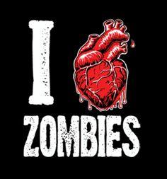 I ♥ zombies.