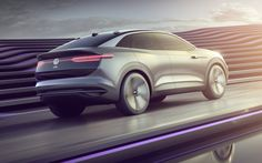 Volkswagen I. Crozz Concept Shows The Way For Electric Crossovers Electric Power, Electric Cars, Volkswagen, Electric Crossover, Innovation, Head Up Display, Green Building, Concept Cars, Chevy